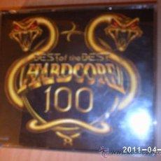 CDs de Música: BEST OF THE BEST HARCORE 100 (4CDS). Lote 26824489