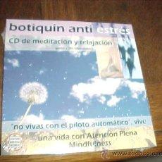 CDs de Música: BOTIQUIN ANTI ESTRES. CD DE MEDITACION Y RELAJACION. GUION VOZ DHARMAKIRTI. CENTRO BUDISTA VALENCIA. Lote 26888154