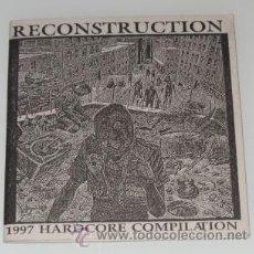 CDs de Música: RECONSTRUCTION - 1997 HARDCORE COMPILATION - CD - LIBRETO - EXISTENCE / MURDER - COMO NUEVO. Lote 26983740