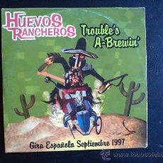 CDs de Música: HUEVOS RANCHEROS - TROUBLE'S A-BREWIN - CD. Lote 27085645