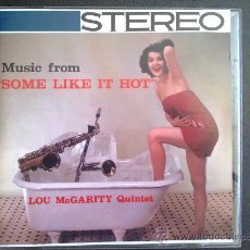 CDs de Música: LOU MCGARITY QUINTET - SOME LIKE IT HOT - CD. Lote 27106275