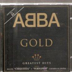 CDs de Música: CD ABBA GOLD - WATERLOO + DANCING QUEEN + CHIQUITITA (EN ESPAÑOL) + FERNANDO (EN ESPAÑOL) + ETC . Lote 27130512