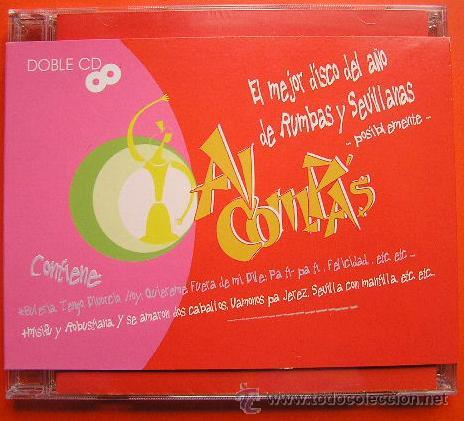 DOBLE CD EL MEJOR DISCO DEL AÑO DE RUMBAS Y SEVILLANAS. AL COMPAS (Música - CD's Flamenco, Canción española y Cuplé)