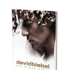 CDs de Música: DAVID BISBAL SIN MIRAR ATRÁS EDICIÓN DE LUJO LIBRO+2 CD´S+DVD. Lote 111179787