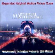 CDs de Música: B.S.O. ORIGINAL *A.I. INTELIGENCIA ARTIFICIAL* (2 CD´S/ED. LTDA). JOHN WILLIAMS. NUEVA.. Lote 27329220