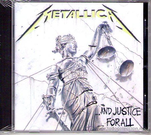 METALLICA - ...AND JUSTICE FOR ALL ( CD 1988 ) (Música - CD's Heavy Metal)