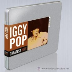 CDs de Música: IGGY POP * CD BOX * GREATEST HITS STEEL BOX COLLECTION * CAJA METÁLICA * PRECINTADA * RARE. Lote 194976805