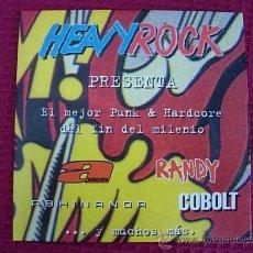 CDs de Música: CD HEAVY ROCK (1999). Lote 27494228