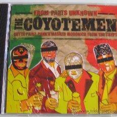CDs de Música: THE COYOTEMEN - FROM PARTS UNKNOWN - CD - H RECORDS - COYOTE MEN - NUEVO PRECINTADO. Lote 27557878