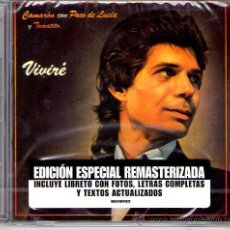 CDs de Música: CAMARÓN - VIVIRÉ ( CD 2005 REMASTERIZADO ) PACO DE LUCIA Y TOMATITO. Lote 27656559