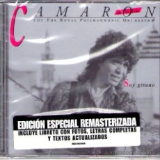 CDs de Música: CAMARÓN - SOY GITANO ( CD 2005 REMASTERIZADO ) ROYAL PHILARMONIC ORCHESTRA. Lote 102638388