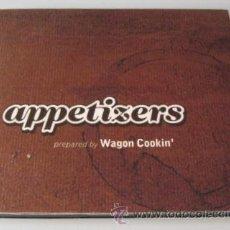 CDs de Música: WAGON COOKIN ' - APPETIZERS - CD - 14 TRAKS - GRUPO DE PAMPLONA - COMO NUEVO. Lote 27678504