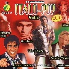 CDs de Música: ITALIA-THE WORLD OF ITALO-POP (VOL. 2) 2 CDS-MUSICA ITALIANA MUY VARIADA. Lote 27691981