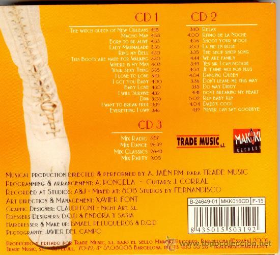 CDs de Música: DRAG QUEEN DREAMS * 3 CD * TEMAZOS 80s DANCE * DIGIPACK * NUEVO * ULTRARARE * PRECINTADO - Foto 3 - 42755880