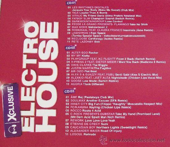 CDs de Música: ESTUCHE DE 3 CDS DE ELECTRO HOUSE - Foto 2 - 27768265