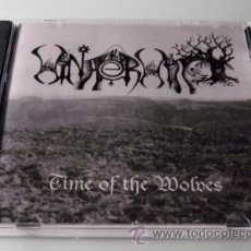CDs de Música: WINTERWITCH - TIME OF THE WOLVES - CD NEGRO - 2004 - COMO NUEVO. Lote 27775271