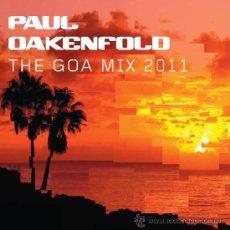 CDs de Música: PAUL OAKENFOLD * 2 CD * THE GOA MIX 2011 * IMPRESCINDIBLE * LTD FUNDA CARTÓN * PRECINTADO!!. Lote 27920294