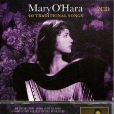 CDs de Música: DOBLE CD ALBUM: MARY O'HARA - 40 TRADITIONAL SONGS - H&H MUSIC - AÑO 2007. Lote 27926450