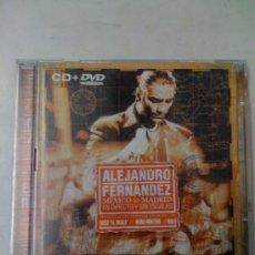 CDs de Música: ALEJANDRO FERNANDEZ MEXICO MADRID EN DIRECTO Y SIN ESCALAS CD + DVD. Lote 27931344