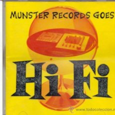 CDs de Música: MUNSTER RECORDS GOES HI FI - RAMONETURES SAFETY PINS WEBELOS ULTRASONICAS.... Lote 27974658