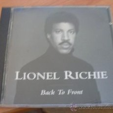 CDs de Música: LIONEL RICHIE ( BACK TO FRONT ) CD (CD7). Lote 109547747