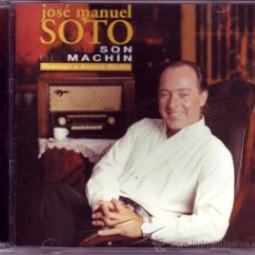 CDs de Música: JOSÉ MANUEL SOTO: AL SON DE MACHÍN.. Lote 28006638