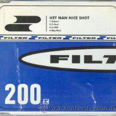 CDs de Música: FILTER - CD SINGLE - HEY MAN NICE SHOT. Lote 28022697
