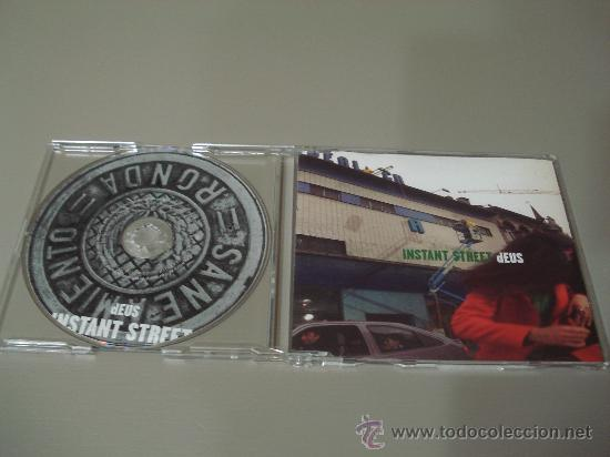 DEUS - INSTANT STREET - CD SINGLE 3 TEMAS (2 INEDITOS) (Música - CD's Rock)