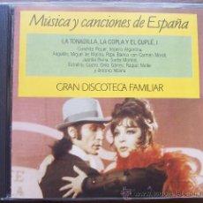 CDs de Música: CD LA TONADILLERA,LA COPLA Y EL CUPLÉ I. Lote 28040844