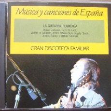 CDs de Música: CD LA GUITARRA FLAMENCA. Lote 28040856