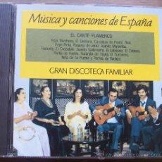CDs de Música: CD EL CANTE FLAMENCO. Lote 28040877