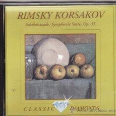CDs de Música: ** CD05 - RINSKY KORSAKOV - SCHEHERAZADE, SYMPHONIC SUITE, OP. 35. Lote 28069658