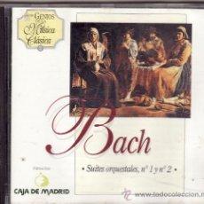 CDs de Música: ** CD23 - BACH - SUITES ORQUESTALES Nº I Y Nº 2. Lote 28072202