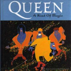 CDs de Música: CD - LIBRO - QUEEN - A KIND OF MAGIC. Lote 28129869