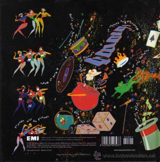 CDs de Música: CD - LIBRO - QUEEN - A KIND OF MAGIC - Foto 2 - 28129869