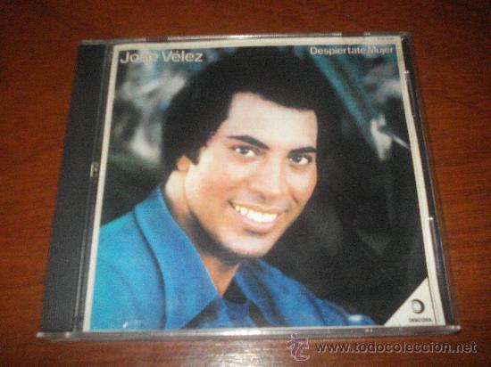 JOSE VELEZ CD DESPIERTATE MUJER MANOLO GALVAN PERALES OTERO JULIO IGLESIAS CAMILO SESTO (Música - CD's Melódica )