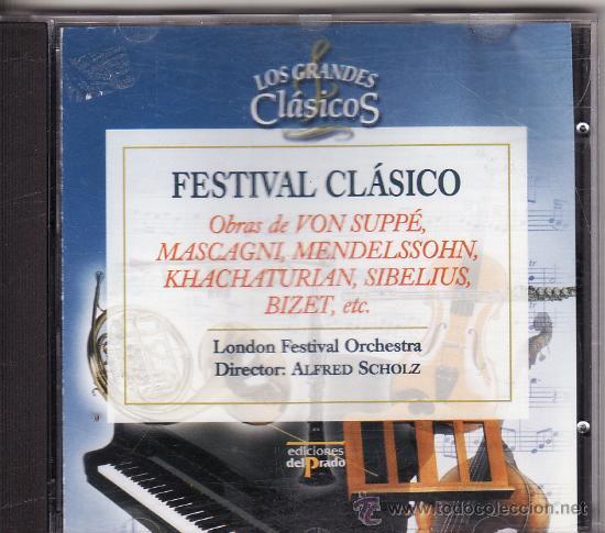 *-* CD29 - FESTIVAL CLASICO - COLECCION LOS GRANDES CLASICOS - LONDON FESTIVAL ORCHESTRA (Música - CD's Clásica, Ópera, Zarzuela y Marchas)