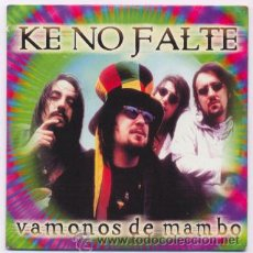 CDs de Música: KE NO FALTE - CD SINGLE - VAMONOS DE MAMBO. Lote 28177517