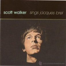CDs de Música: SCOTT WALKER * CD * SCOTT WALKER SINGS JACQUES BREL * PRECINTADO!!. Lote 46685920