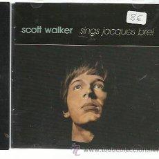 CDs de Música: SCOTT WALKER - SINGS JACQUES BREL - CD FONTANA NUEVO. Lote 28256592