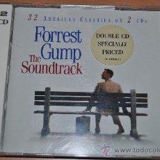 CDs de Música: CD BSO. FORREST GUMP - DOBLE CD ORIGINAL SOUNDTRACK - 1994 -. Lote 28686857