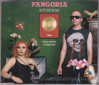 CD SINGLE FANGORIA - NO SE QUE ME DAS - INCLUYE REMEZCLA CARLOS JEAN (Música - CD's Pop)