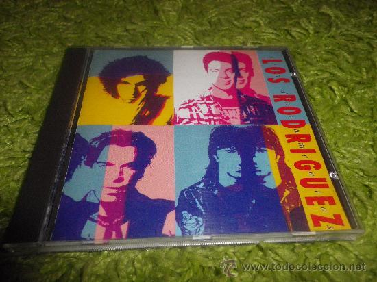 LOS RODRIGUEZ SIN DOCUMENTOS CD ALBUM ANDRES CALAMARO ARIEL ROT TEQUILA CONTIENE 12 TEMAS (Música - CD's Pop)