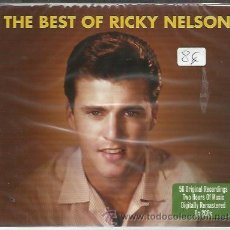 CDs de Música: RICKY NELSON - THE BEST OF - CD DOBLE NOT NOW NUEVO - 56 TEMAS. Lote 28331358