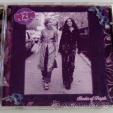 CDs de Música: M2M - SHADES OF PURPLE - CD 13 TEMAS - ATLANTIC 2000 GERMANY - SYNTH POP- BUEN ESTADO. Lote 28352919