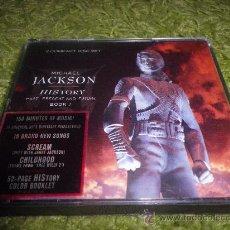 CDs de Música: MICHAEL JACKSON HISTORY 2 CD PRIMERA EDICION CDS DORADOS CD DOBLE CD DORADOS 2 CD RARO. Lote 28359787