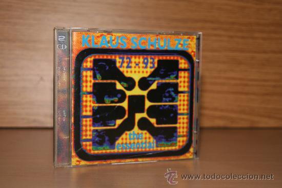 KLAUS SCHLUZE (Música - CD's New age)