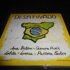 CDs de Música: ANA BELEN / PASTORA SOLER / LOLITA / LUCRECIA / CARMEN PARIS CD SINGLE PROMOCIONAL PORTADA CARTON. Lote 296563083