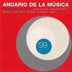 CDs de Música: BUNBURY, JUAN PERRO, REVÓLVER, JARABE DE PALO, TAHÚRES ZURDOS, OASIS, ZUCCHERO - 1999. Lote 157009278
