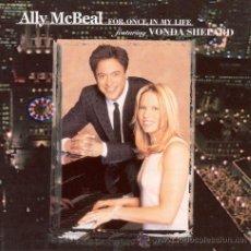 CDs de Música: ALLY MCBEAL (FOR ONCE IN MY LIFE) * CD * WONDA SHEPARD * PRECINTADO * LTD BONUS!!!. Lote 28458572